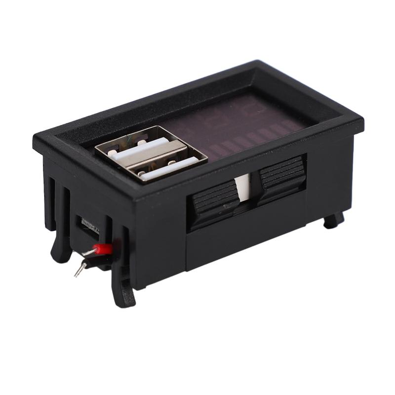2X-Led-Rojo-Pantalla-Digital-Voltimetro-Mini-Medidor-de-Voltaje-Volt-Tester-Pane miniatura 7
