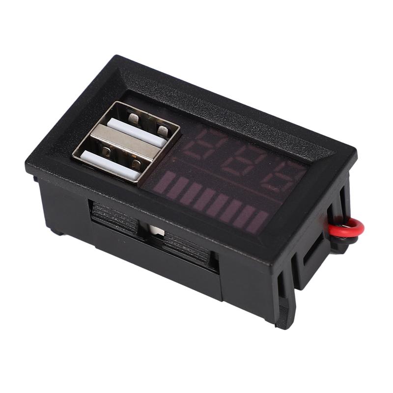 1X-Led-Rojo-Pantalla-Digital-Voltimetro-Mini-Medidor-de-Voltaje-Volt-Tester-MIJ miniatura 8
