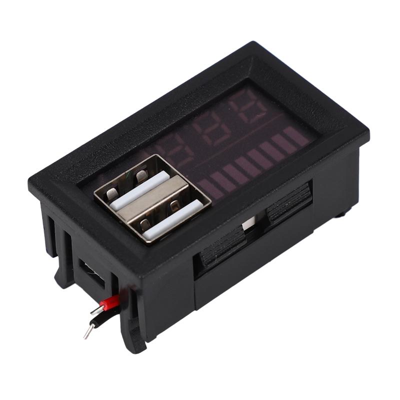 1X-Led-Rojo-Pantalla-Digital-Voltimetro-Mini-Medidor-de-Voltaje-Volt-Tester-MIJ miniatura 9