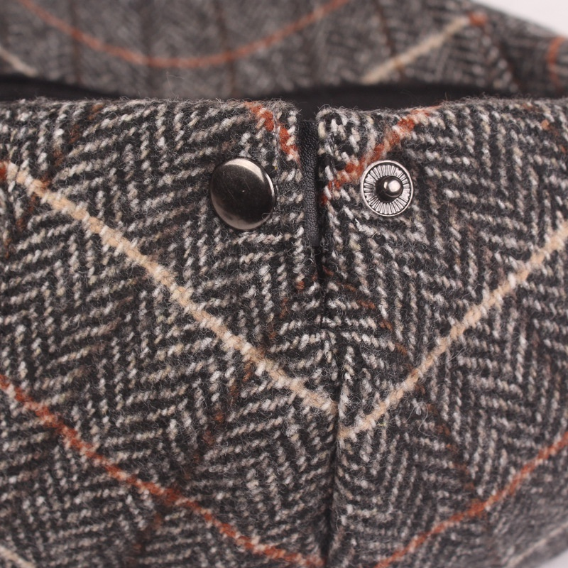 miniature 13 - 1X(Automne Hiver Hommes Chapeau Chapeaux BéRets Casquette de Style Occident E4P5