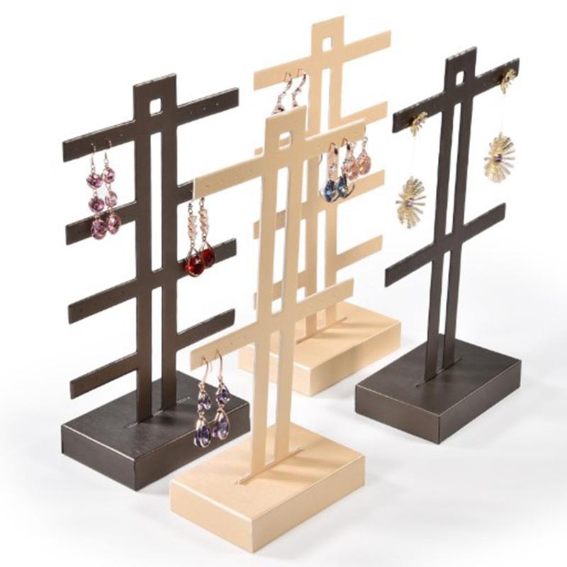 Indexbild 5 - Schmuck Display Rack Standhalter Ohrringe Hanging Organizer C6N3