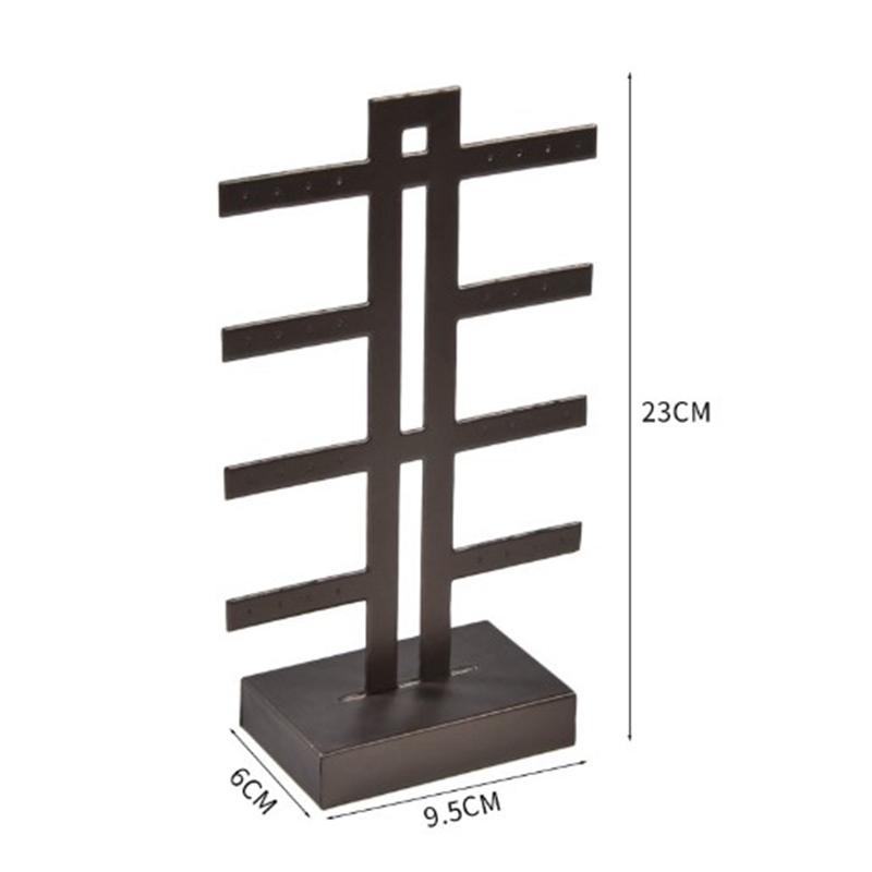 Indexbild 12 - Schmuck Display Rack Standhalter Ohrringe Hanging Organizer C6N3