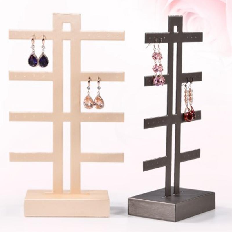 Indexbild 22 - Schmuck Display Rack Standhalter Ohrringe Hanging Organizer C6N3
