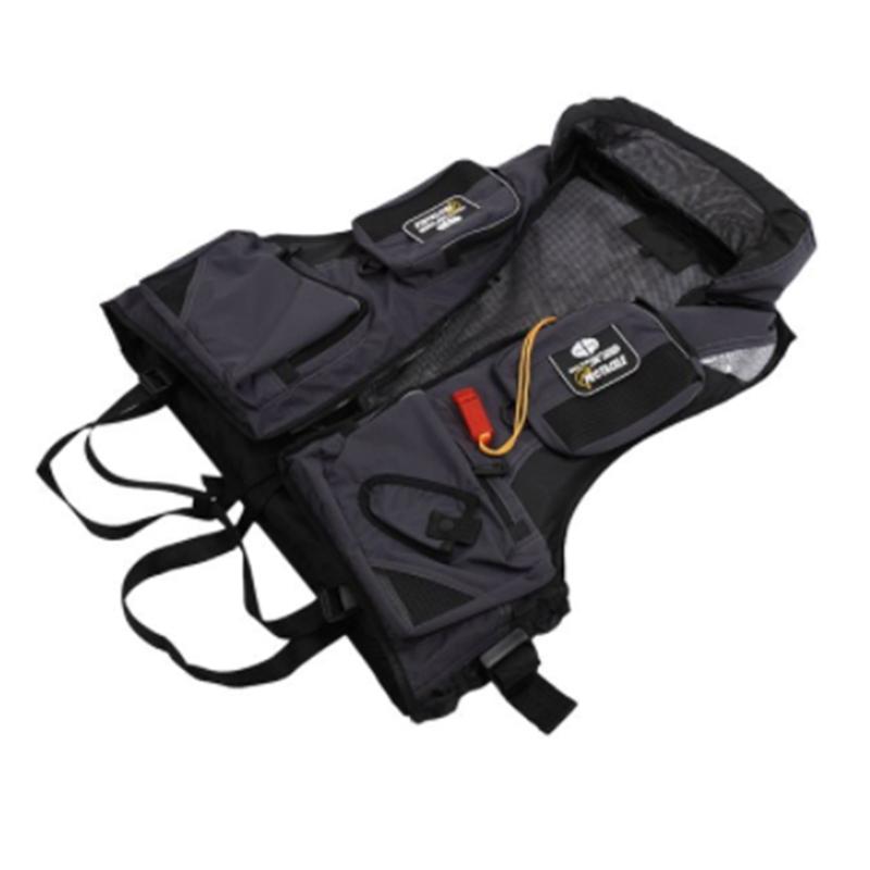 PROTACKLE-Adult-Adjustable-Buoyancy-Aid-Swimming-Boating-Sailing-Fishing-Ka-R5O1 thumbnail 4