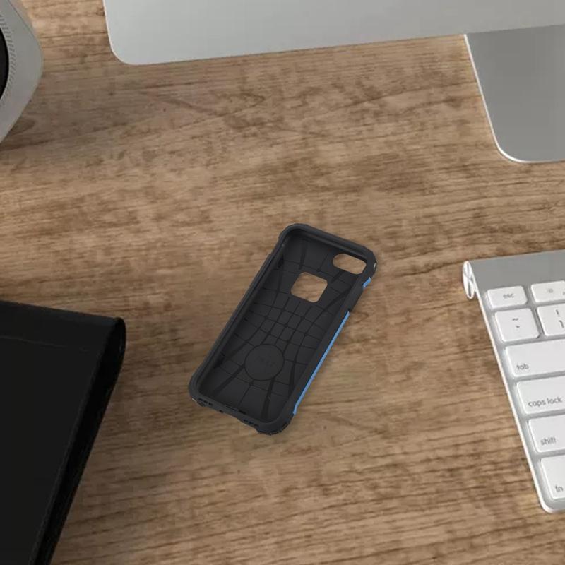 Indexbild 6 - für IPhone 7 Fall StoßDäMpfende Anti-Kratz-Dual-Layer-SchutzhüLle für Den H G4X1