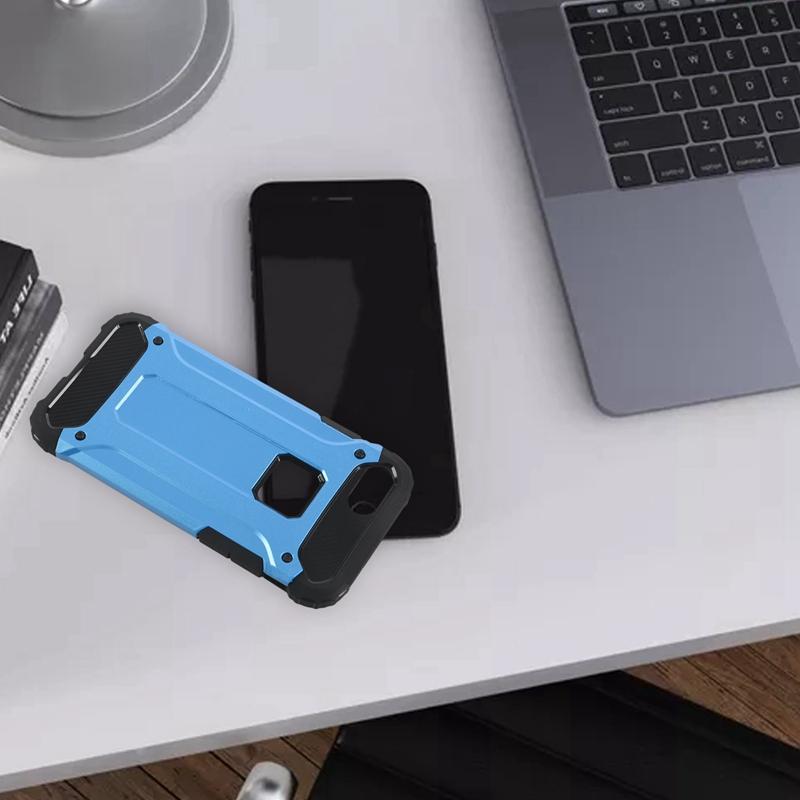Indexbild 7 - für IPhone 7 Fall StoßDäMpfende Anti-Kratz-Dual-Layer-SchutzhüLle für Den H G4X1