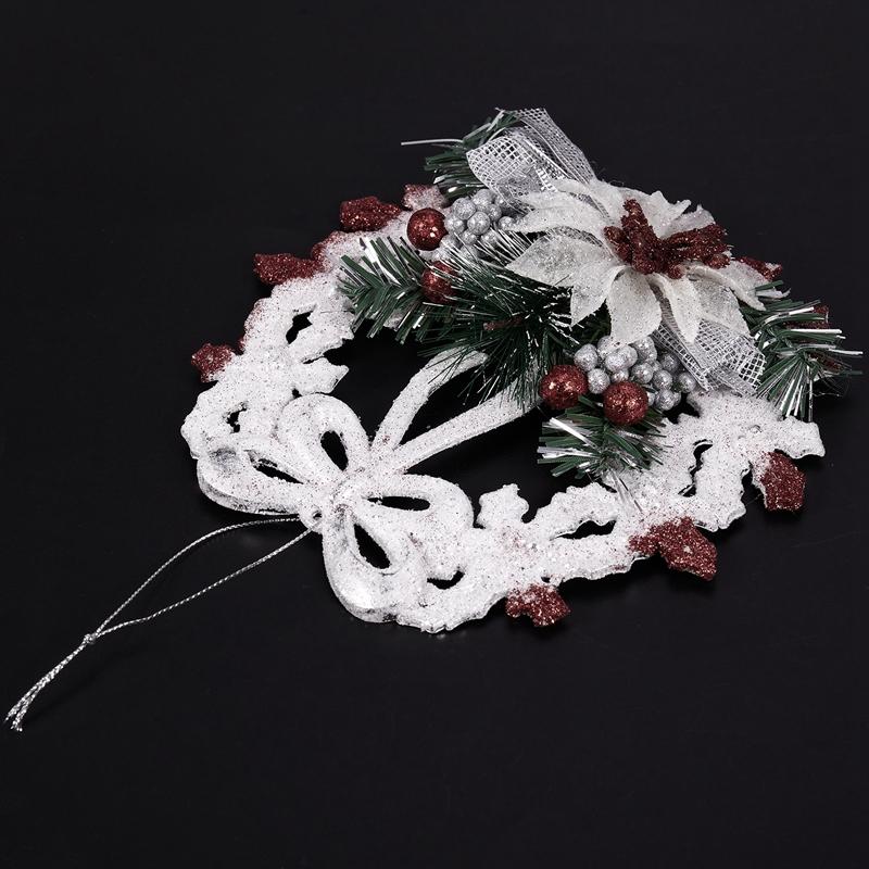 White-Christmas-Home-Door-Window-Ornaments-Christmas-Decoration-Xmas-Tree-H-T6A7 thumbnail 6