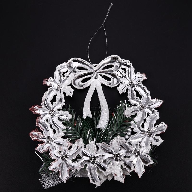White-Christmas-Home-Door-Window-Ornaments-Christmas-Decoration-Xmas-Tree-H-T6A7 thumbnail 9