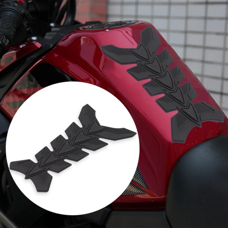 TOOGOO R1200Gs S1000Rr R9T Moto 3D Tappetino nel Gomma Olio Gas Serbatoio Carburante Protezione Protettiva Adesivo per Yamaha