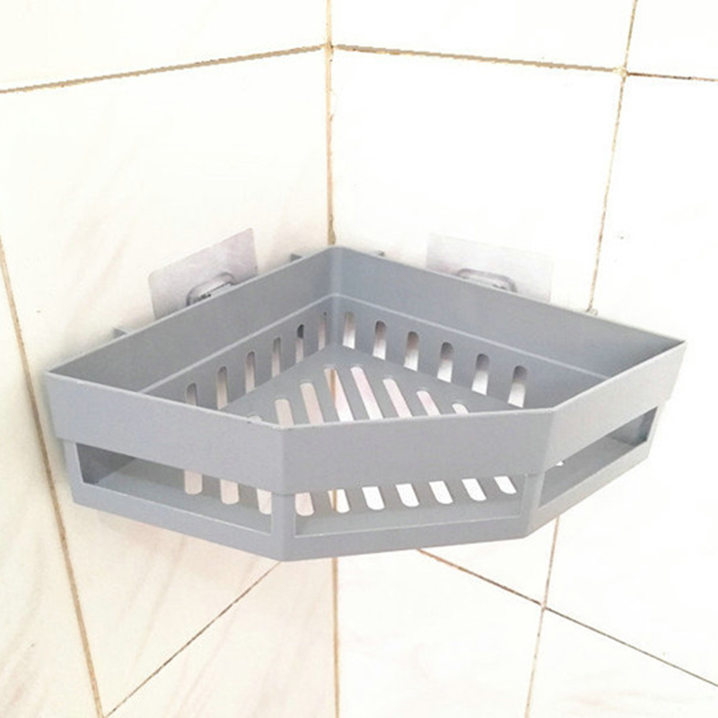 2-Pcs-Salle-de-Bains-ETageRes-D-039-Angle-Shampooing-Titulaire-Cuisine-Rack-de-B3J2 miniature 6