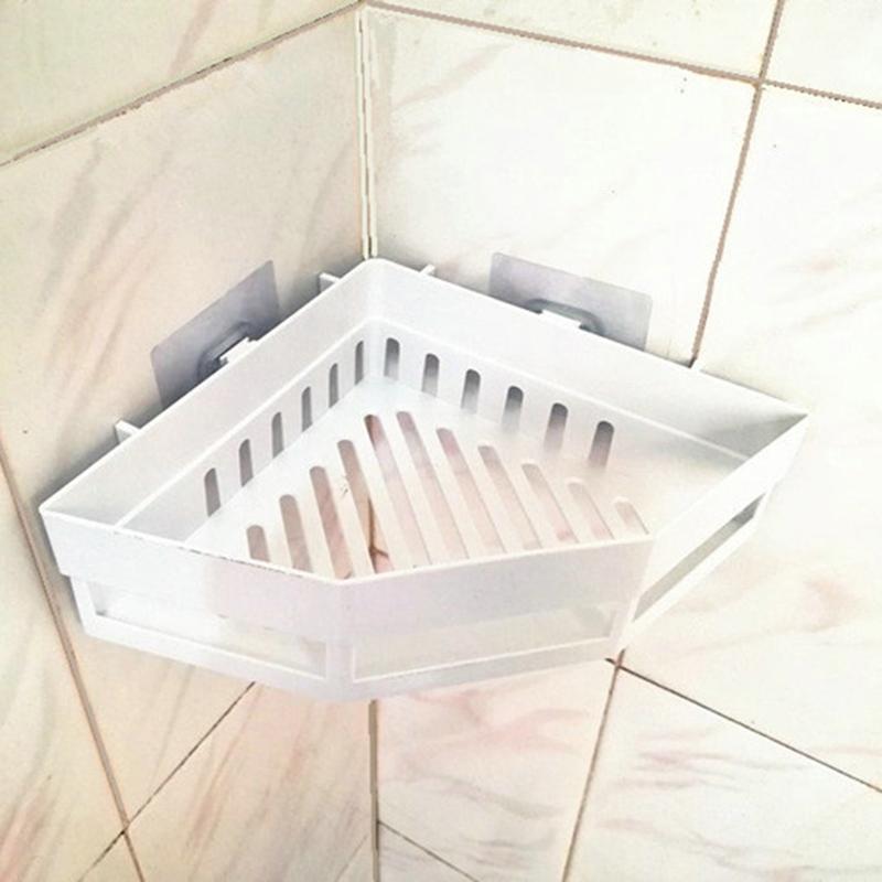 2-Pcs-Salle-de-Bains-ETageRes-D-039-Angle-Shampooing-Titulaire-Cuisine-Rack-de-B3J2 miniature 10