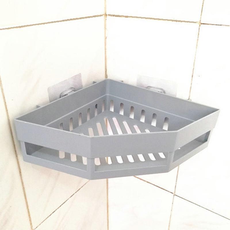 2-Pcs-Salle-de-Bains-ETageRes-D-039-Angle-Shampooing-Titulaire-Cuisine-Rack-de-B3J2 miniature 13