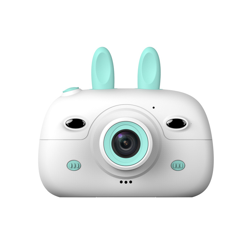 Children Mini Camera 2.4Inch Screen Display Front Rear Dual