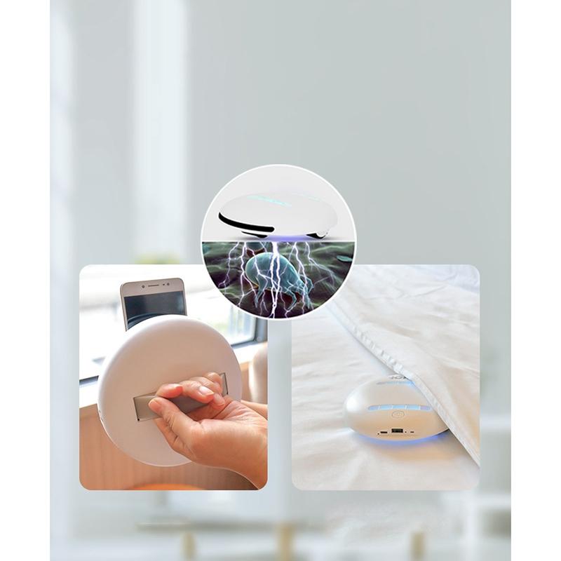 2X(Ultrasound Smart Wireless UV Sanitizing HEPA Allergen Vacuum Effectively Z1C6
