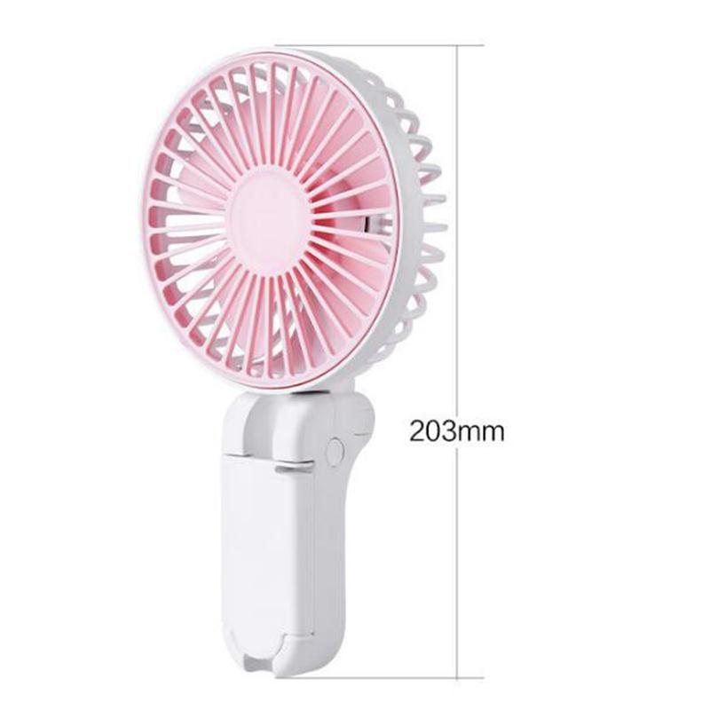 Parapluie-Soleil-Parapluie-Petit-Ventilateur-Portatif-Pliant-Bureau-USB-Cha-R9Y5 miniature 5