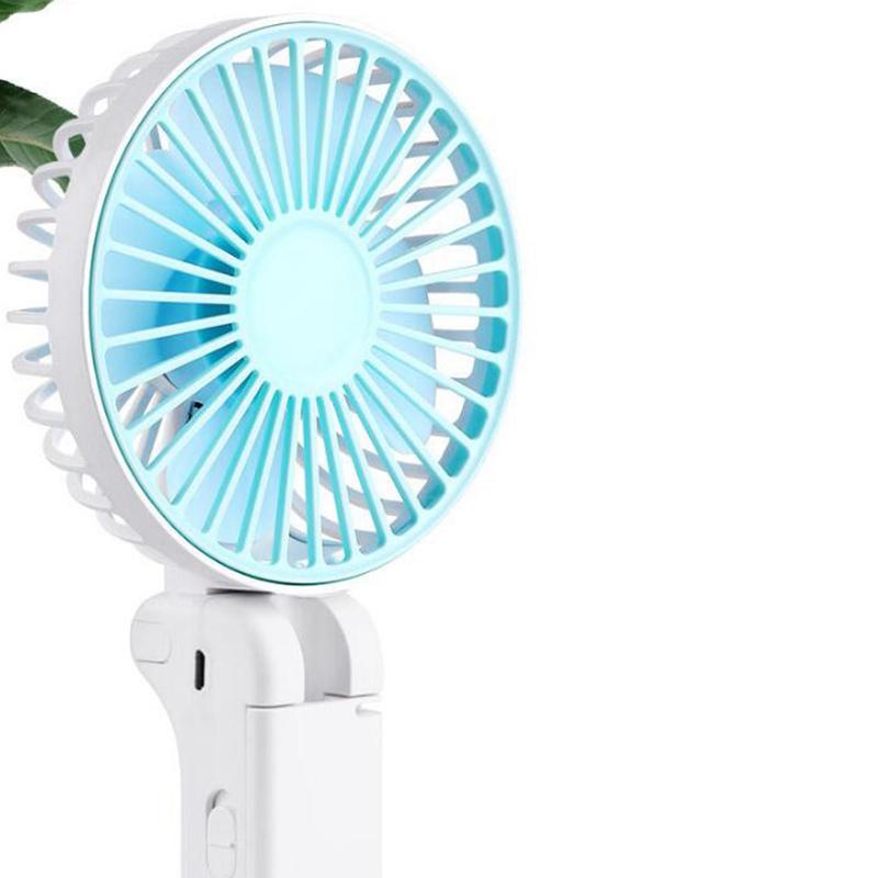 Parapluie-Soleil-Parapluie-Petit-Ventilateur-Portatif-Pliant-Bureau-USB-Cha-R9Y5 miniature 9