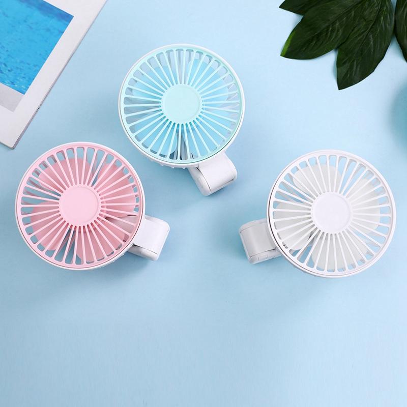Parapluie-Soleil-Parapluie-Petit-Ventilateur-Portatif-Pliant-Bureau-USB-Cha-R9Y5 miniature 13
