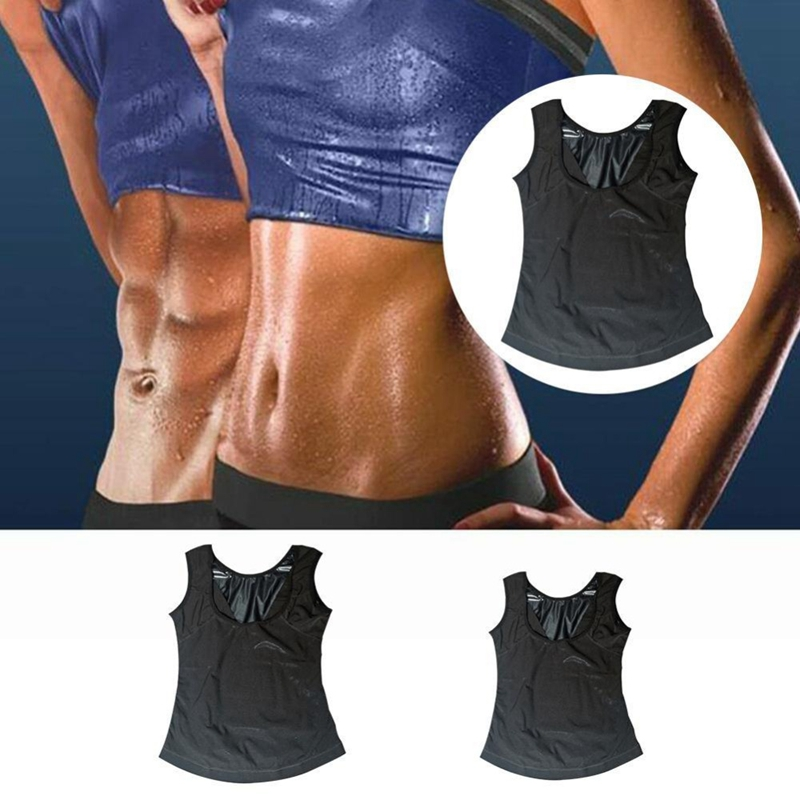 Plus-Size-Neoprene-Sweat-Sauna-Vest-Body-Shapers-Vest-Waist-Trainer-Slimmin-F9A1 thumbnail 6