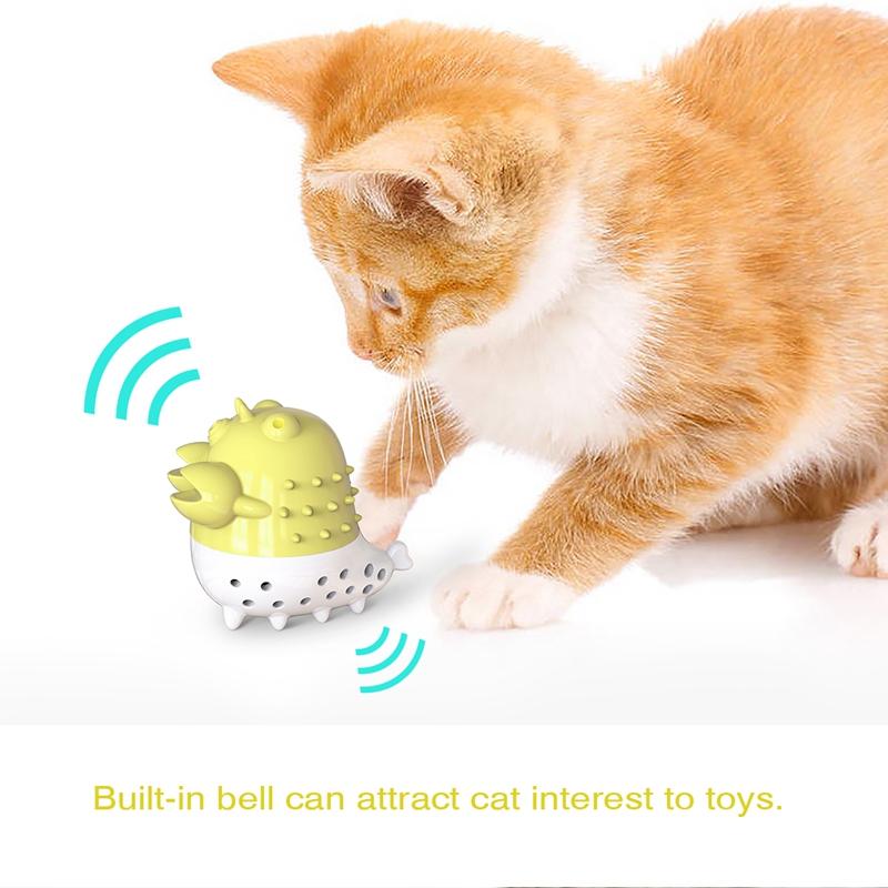 Indexbild 26 - KatzenzahnbüRste Katzenminze Spielzeug Zahnpflege NachfüLlbare Katzenminze inze