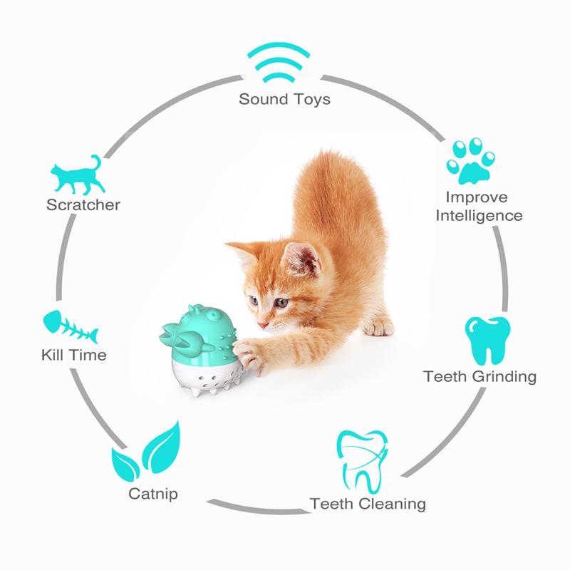 Indexbild 33 - KatzenzahnbüRste Katzenminze Spielzeug Zahnpflege NachfüLlbare Katzenminze inze