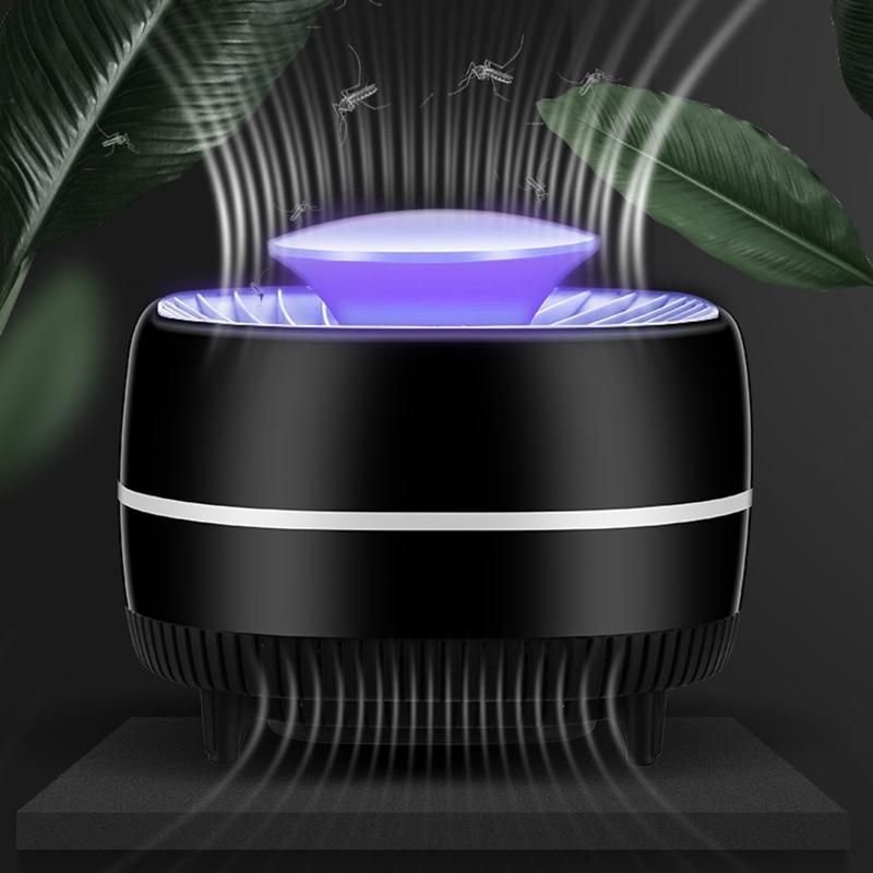 Tueur-de-Moustiques-eLectrique-Lampe-UV-USB-Bug-Zappers-Pas-Bruit-Pas-de-R-K7F4 miniature 2