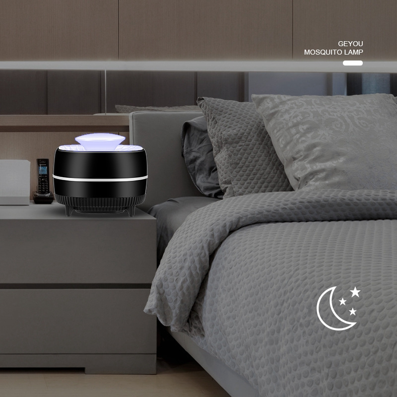 Tueur-de-Moustiques-eLectrique-Lampe-UV-USB-Bug-Zappers-Pas-Bruit-Pas-de-R-K7F4 miniature 3
