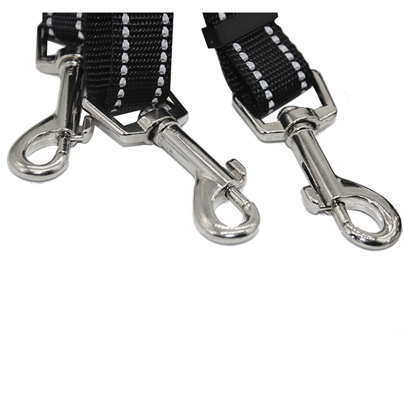 5X-3-Way-Dog-Leash-Nylon-Reflective-Strong-Handle-Heavy-Duty-Traction-Rope-S6O8 miniatuur 6