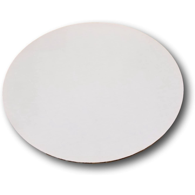 2X-10PCS-Round-Cake-Board-Non-Stick-Mousse-Paper-Circle-Base-Cardboard-Pape-B6T2 miniatuur 2
