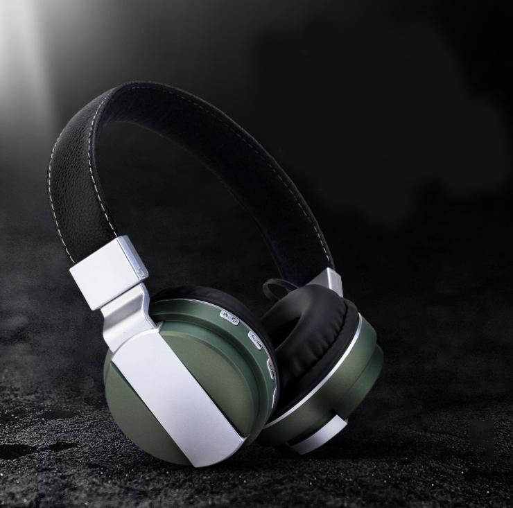 3X-BT008-Wireless-Bluetooth-Headset-Foldable-Noise-Reduction-Sports-Card-St-I5A4 miniatuur 6