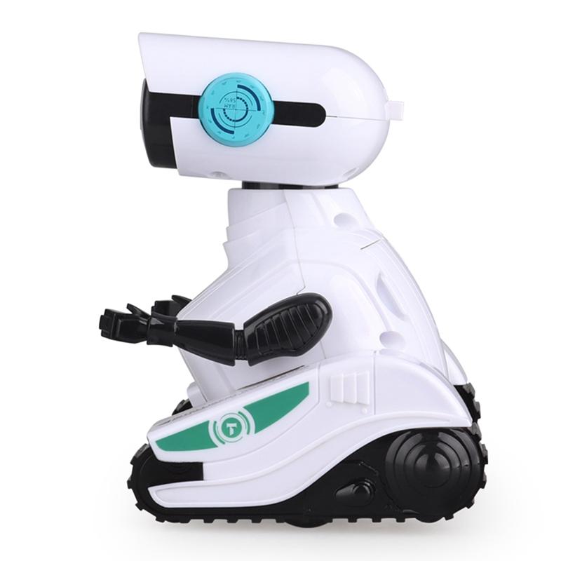 RC Robot Voiture 2.4GHz TéLéCommande Robot Jouet pour Enfants avec Shine Ey+Y8K5 - Jouet et jeux