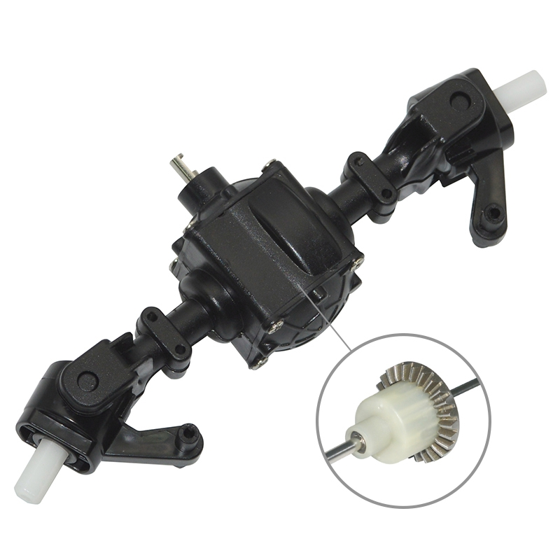 3X-Upgrade-Metal-Gear-Sturdy-Front-Rear-Axle-with-1-Set-Shaft-Assembly-Spa-Q3G0 miniatuur 5