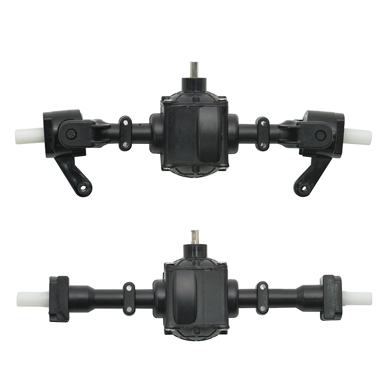 3X-Upgrade-Metal-Gear-Sturdy-Front-Rear-Axle-with-1-Set-Shaft-Assembly-Spa-Q3G0 miniatuur 6