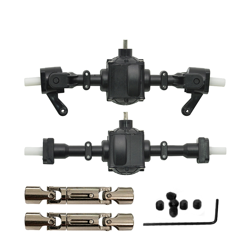 3X-Upgrade-Metal-Gear-Sturdy-Front-Rear-Axle-with-1-Set-Shaft-Assembly-Spa-Q3G0