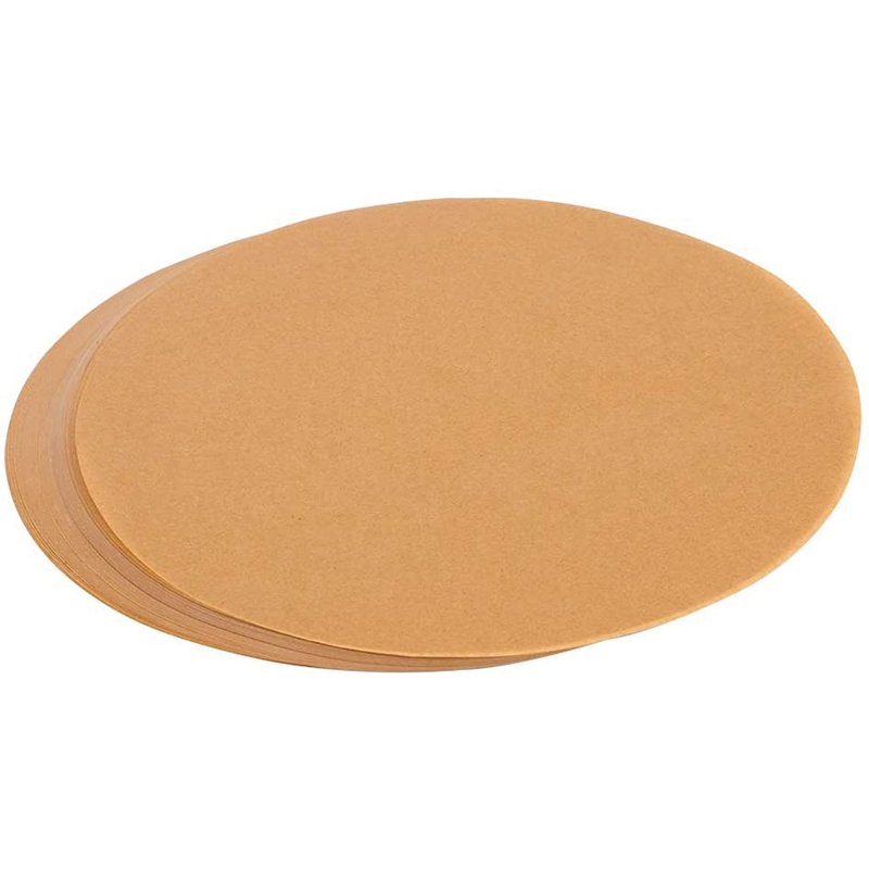 3X-200-Pcs-9-Inches-Unbleached-Paper-Baking-Sheets-Round-Perfect-for-Baking-O5X4