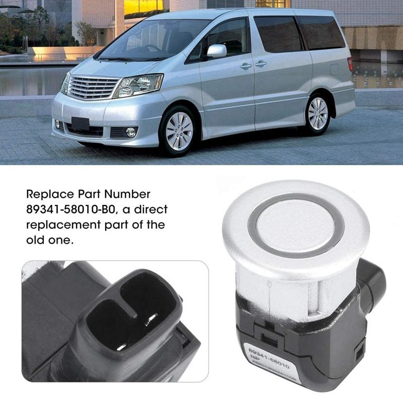 2X-Car-Reversing-Sensor-Electric-Eye-Sensor-Parking-Sensor-for-Toyota-Alpad-Q5S2 miniatuur 7