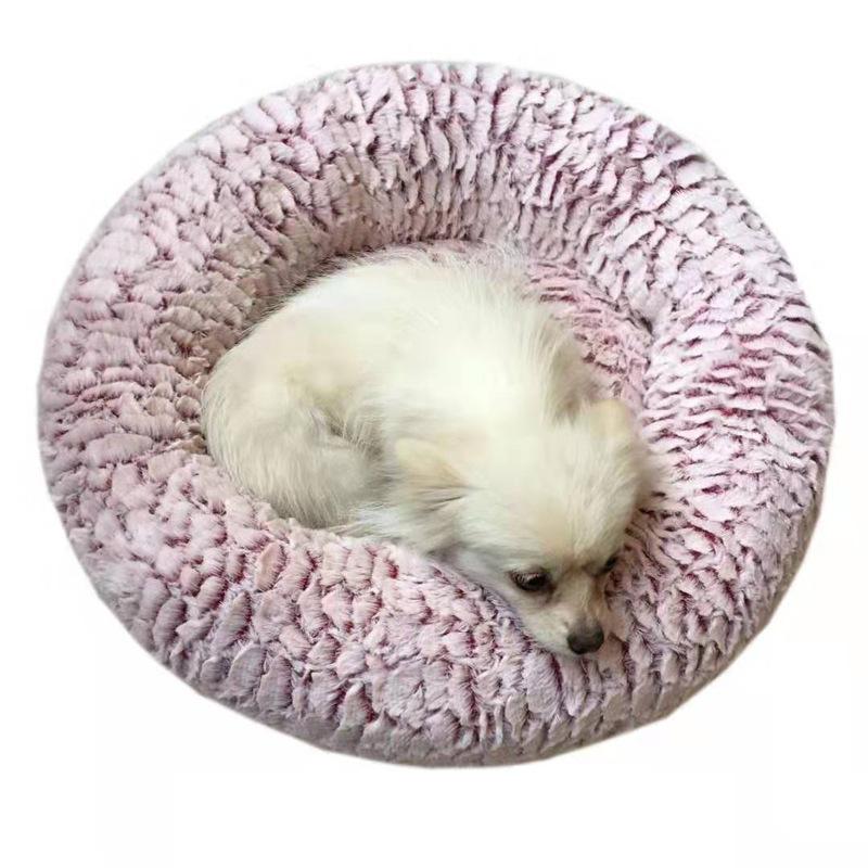 Indexbild 5 - Haustierbett für Hunde Katzen PlüSch Ideen Hundebett Komfortable Runde Z3Q1