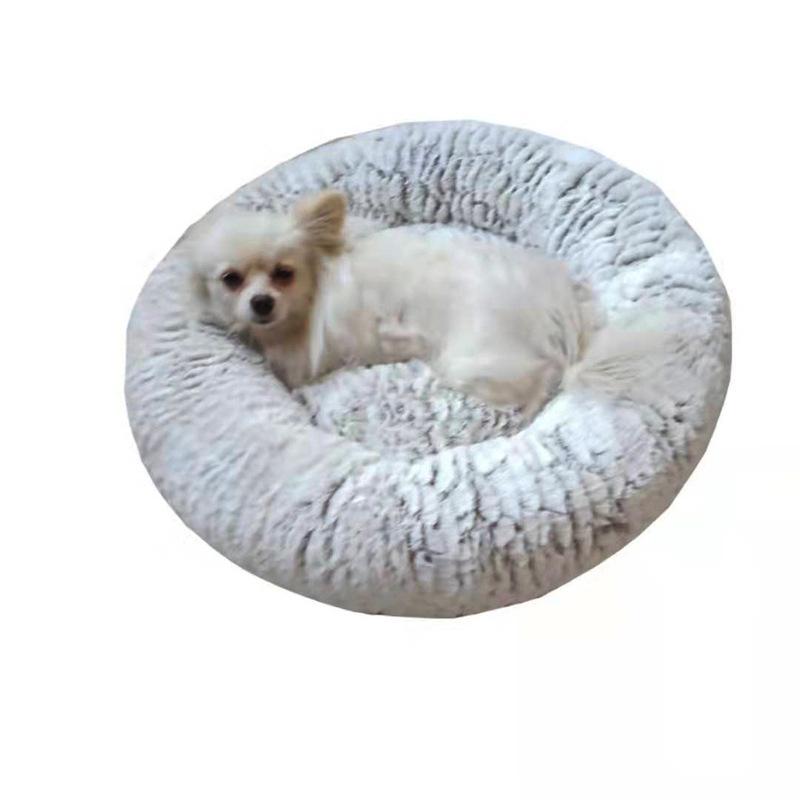 Indexbild 11 - Haustierbett für Hunde Katzen PlüSch Ideen Hundebett Komfortable Runde Z3Q1