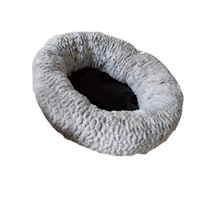 Indexbild 13 - 1X(Haustierbett für Hunde Katzen PlüSch Ideen Hundebett Komfortable Runde H X4V6