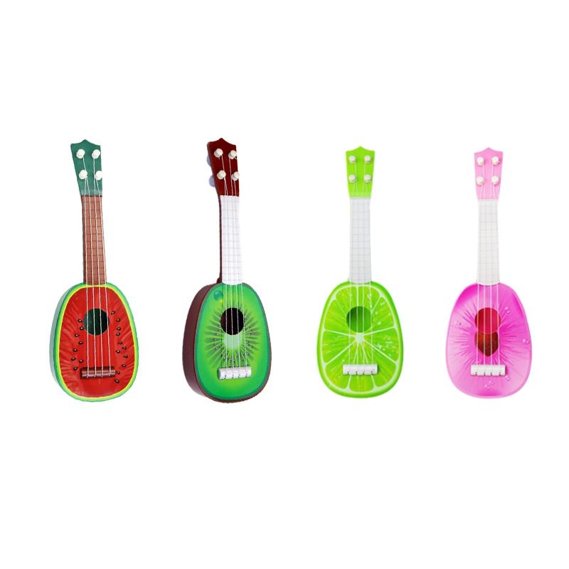 miniature 7 - BéBé Enfants ÉDucatifs Instrument de Musique Jouet Guitare en Gros Fruits G C7Y3