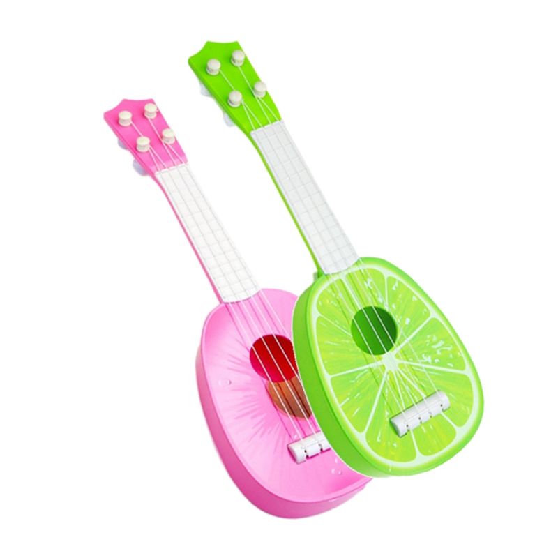 miniature 9 - BéBé Enfants ÉDucatifs Instrument de Musique Jouet Guitare en Gros Fruits G C7Y3