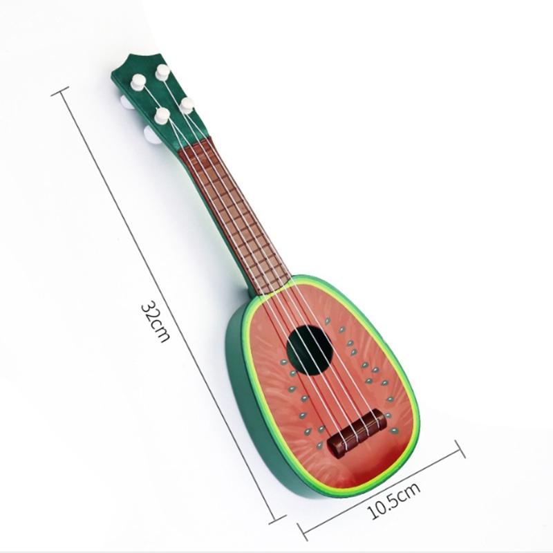 miniature 22 - BéBé Enfants ÉDucatifs Instrument de Musique Jouet Guitare en Gros Fruits G I7X4