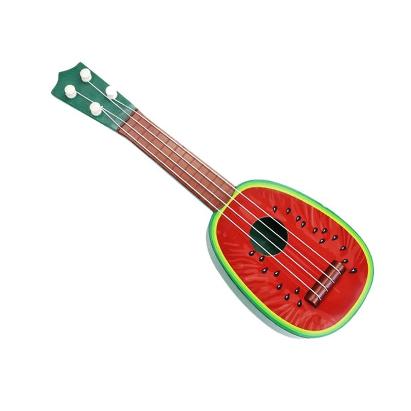 miniature 23 - BéBé Enfants ÉDucatifs Instrument de Musique Jouet Guitare en Gros Fruits G I7X4