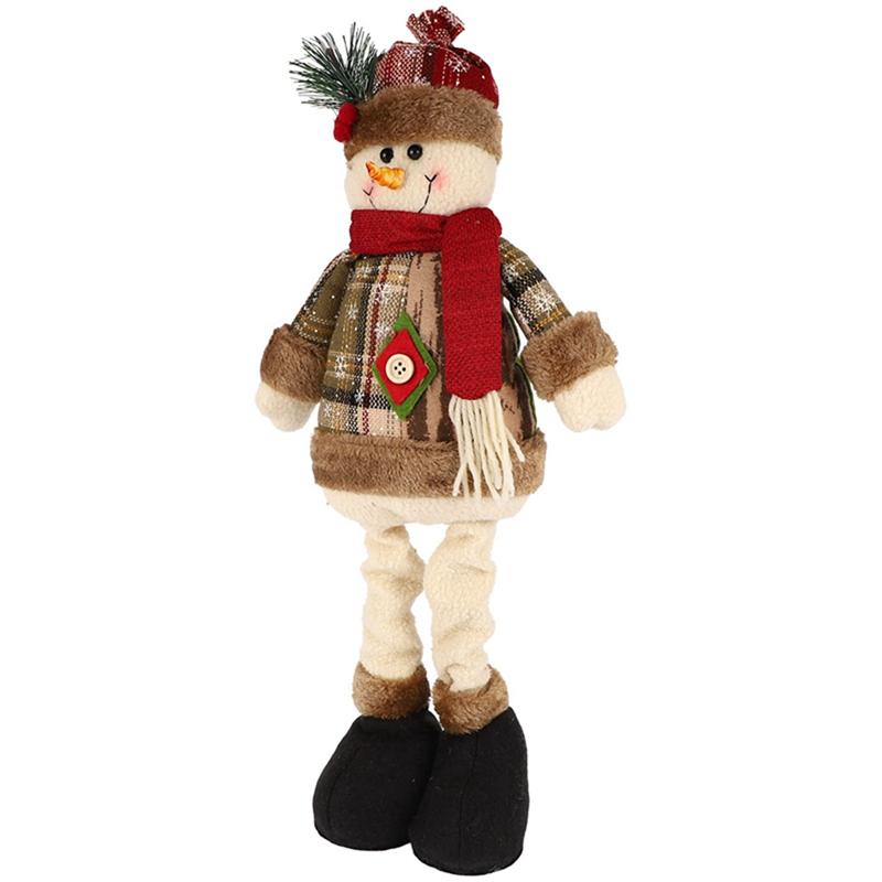 Christmas-Ornaments-Christmas-Gift-Santa-Claus-Snowman-Tree-Toy-Doll-Hang-D-D1S6 thumbnail 16