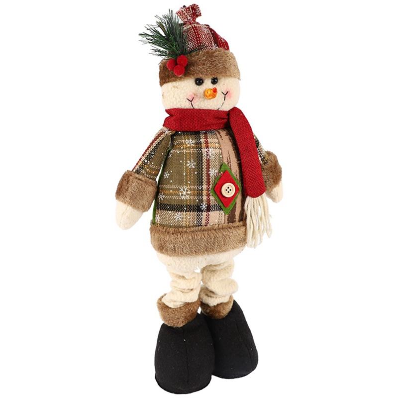 Christmas-Ornaments-Christmas-Gift-Santa-Claus-Snowman-Tree-Toy-Doll-Hang-D-D1S6 thumbnail 18