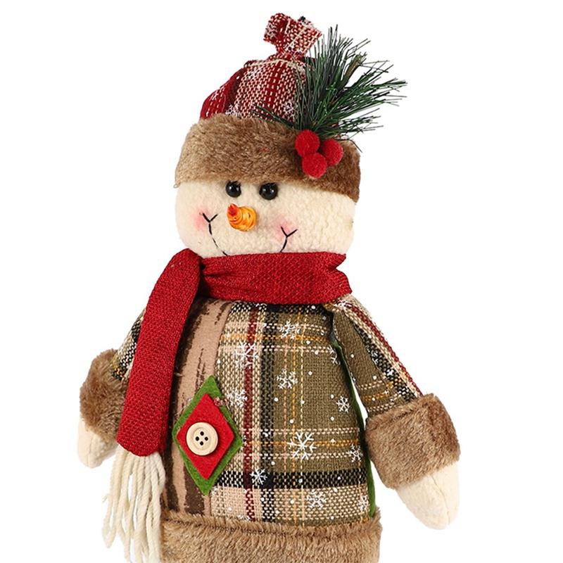 Christmas-Ornaments-Christmas-Gift-Santa-Claus-Snowman-Tree-Toy-Doll-Hang-D-D1S6 thumbnail 19