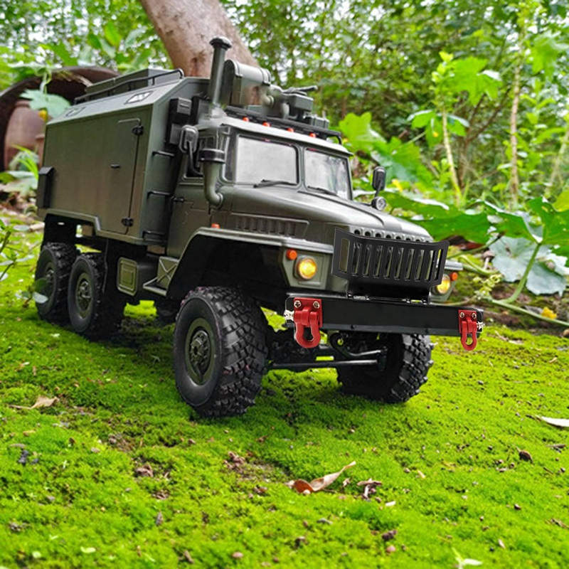 Indexbild 11 - 1X(Upgrade Metall Front Stoß Stange Schutz mit Haken für WPL 1/16 B24 B36 R G6G5