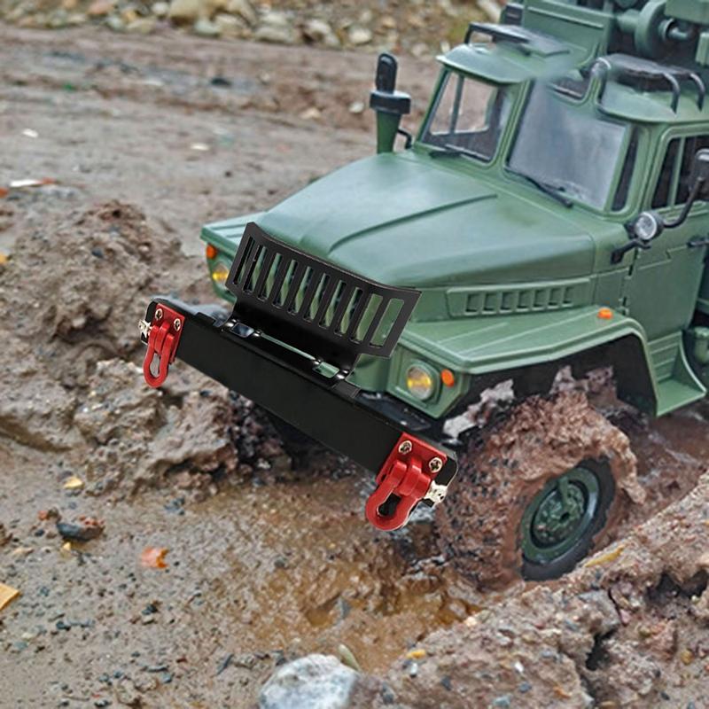 Indexbild 12 - 1X(Upgrade Metall Front Stoß Stange Schutz mit Haken für WPL 1/16 B24 B36 R G6G5