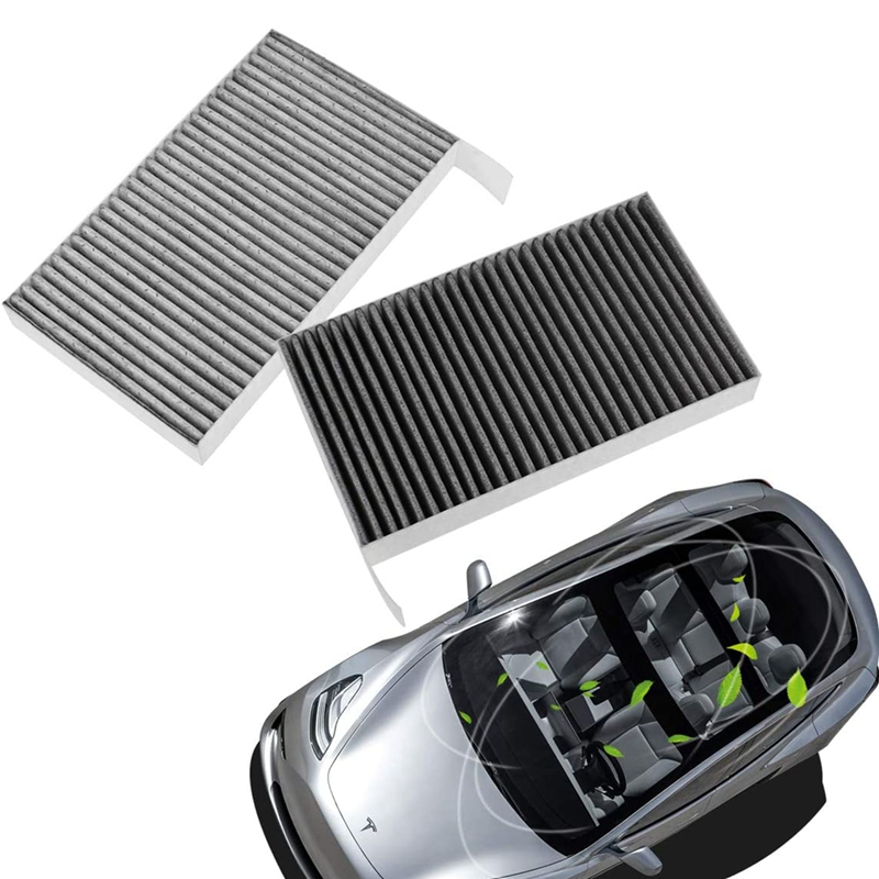 20X(2Pcs Car Activated Carbon Air Inlet-Filter Replacement ...