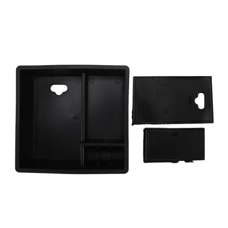 3X-Car-Central-Handrail-Storage-Box-Console-Handrail-Armrest-Storage-Glove-X8S6 miniatuur 8
