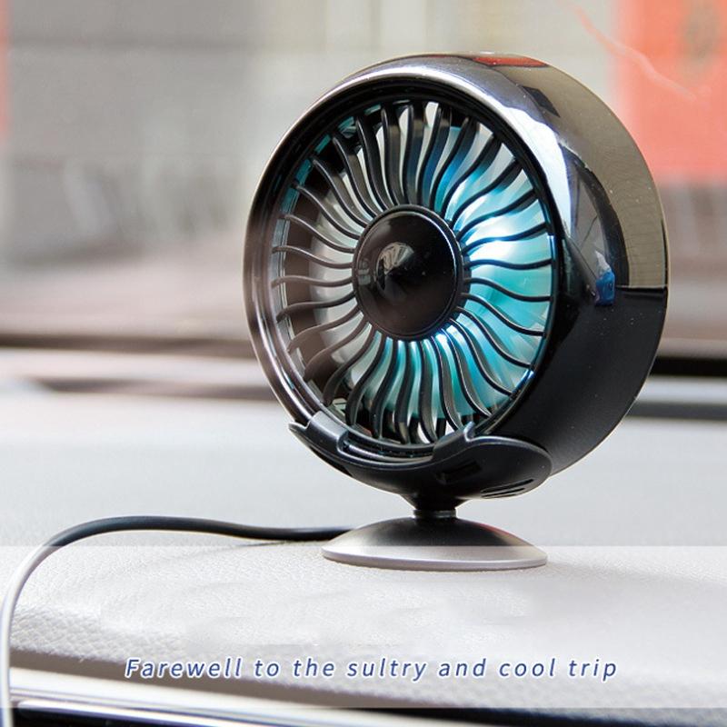 Fournitures-de-Voiture-Usb-Ventilateur-de-Voiture-Climatiseur-Colore-Tablea-A9T2 miniature 5